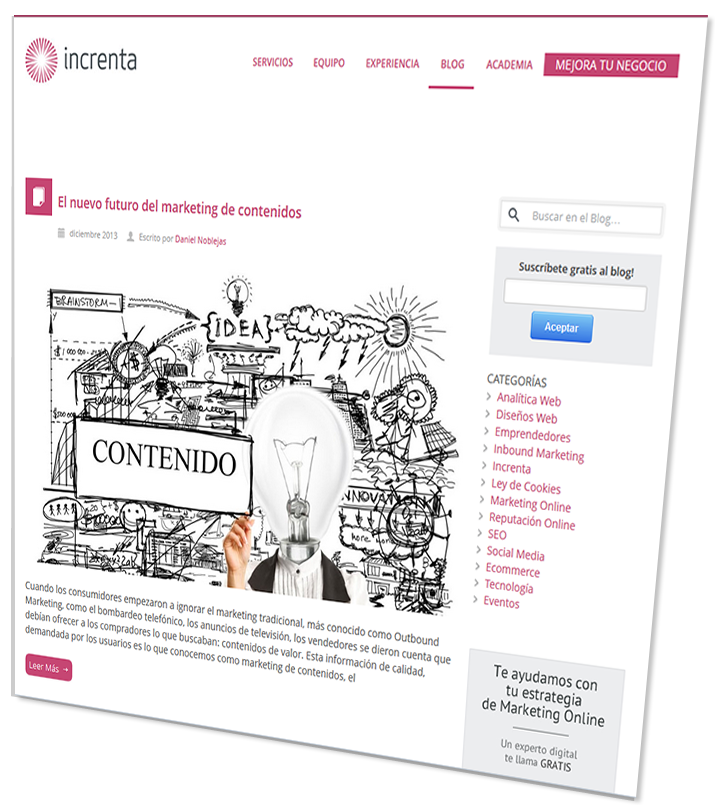 Suscríbete a nuestro blog